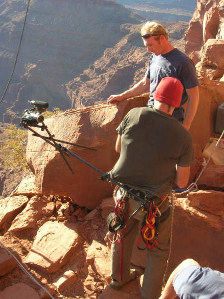 Rappelling Body mount