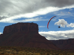 Powered Paragliding - Wing mount