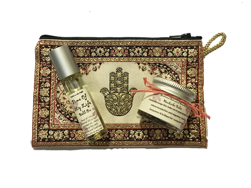 Headache Balm jar & Time Of My Life RollOn Purse Set
