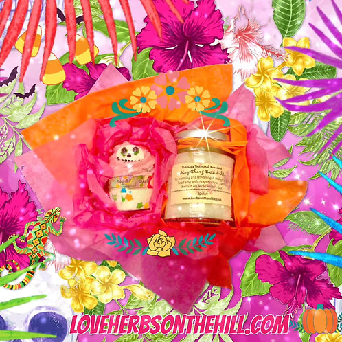 👻🌺💕 Gorgeous🌺☠️Day of the Dead☠️🥀🌺Mallow and Our Amazing 🌼MayChang Bath S