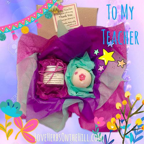 Teacher Gift Headache Balm Gift Set