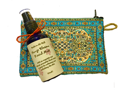 Neroli Orange Blossom Facial Mist & Purse Set