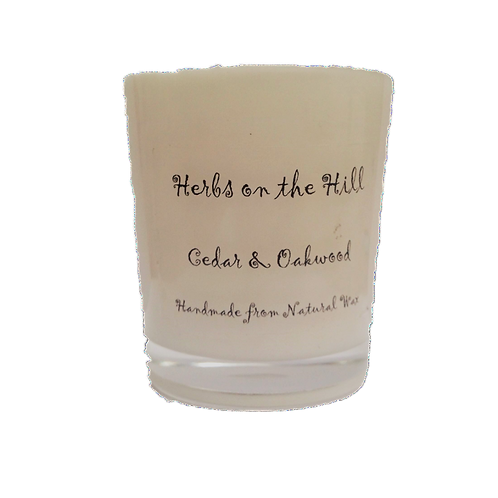 Cedar & Oakwood Votive Candle