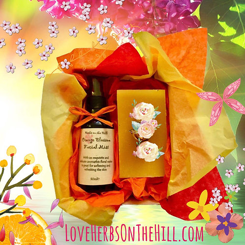 Neroli Orange Blossom Facial Mist & Soap Box