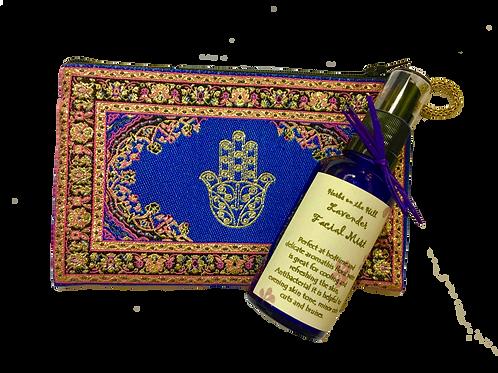 Lavender Facial Mist & Purse Set