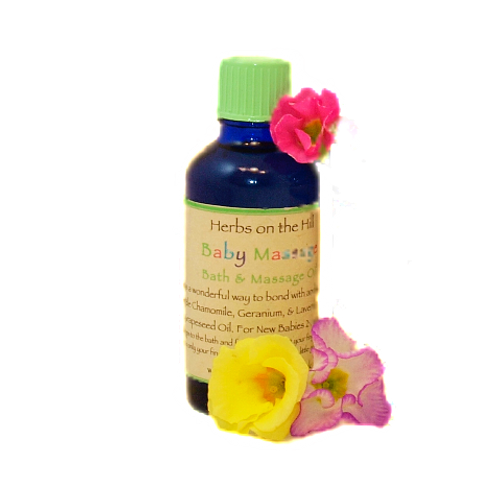 Baby Massage Oil -also suitable for Newborns
