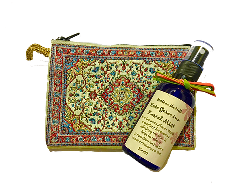 Rose Geranium Facial Mist & Purse Set
