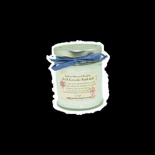 Wild Lavender Bath Salts 220g