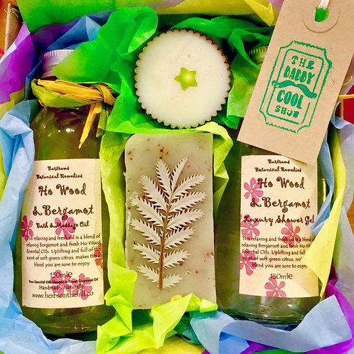 Ho Wood and Bergamot Gift Set