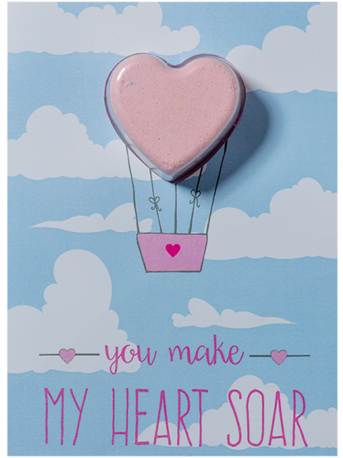 New You Make My Heart Soar Blaster Card