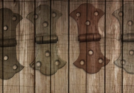 Butterfly Equal Cabinet Hinges