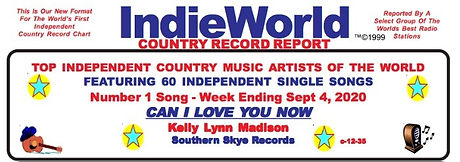Indie World Country Chart