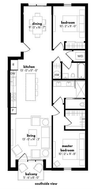 2D 3D floorplan
