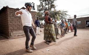 Dreharbeiten EDA Tanzania POV