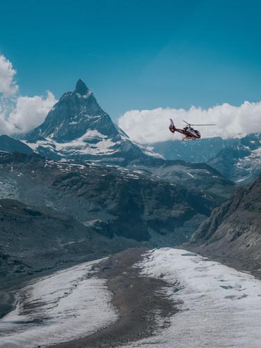 Dreharbeiten SBB 360 Zermatt 2