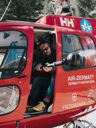 Dreharbeiten SBB 360 Zermatt 3