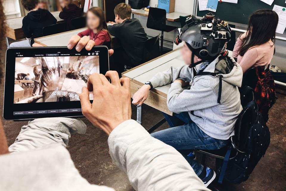 Dreharbeiten EDI Jugend und Medien 360 3