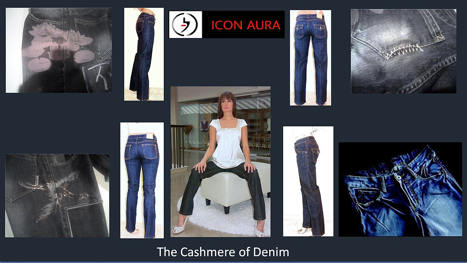 Icon Aura is The Cashmere of Denim offer