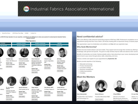 IFAI Expo Mentor Meetings Confidential Advice from Independent Experts