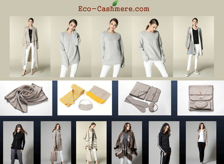 Eco Cashmere is Sustainable!