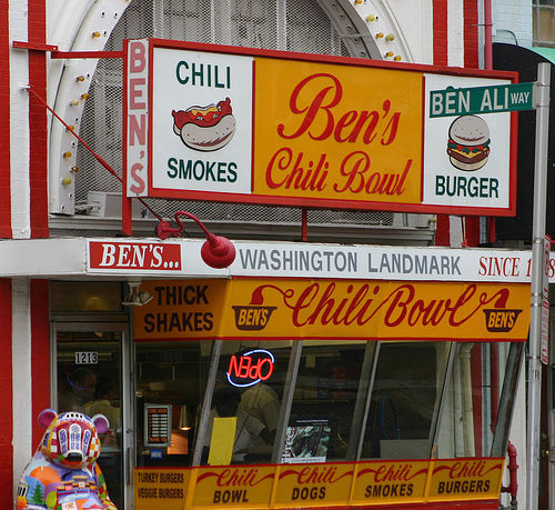 Ben's Chili Bowl Has Come to Reagan National