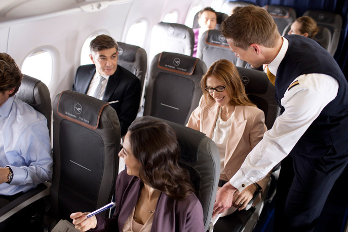 What do you want in business class: seats or service?