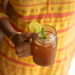 Ginger-Lime-Mint-Tea