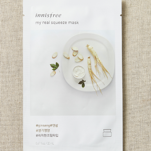 INNISFREE It's Real Squeeze GINSENG