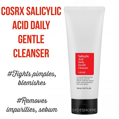 COSRX Salicylic Acid Exfoliating Cleanser