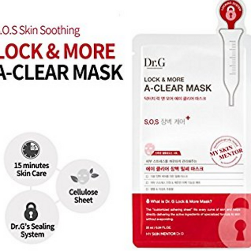 Dr. G Lock & More A-Clear Mask for acne
