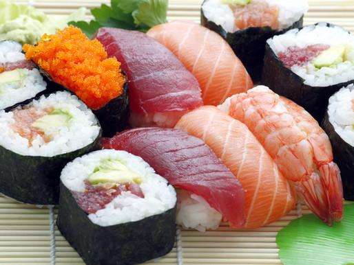 Bebê pode comer comida japonesa?
