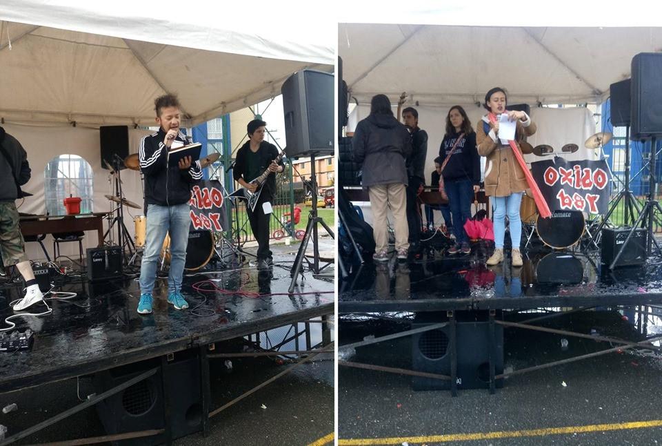 Poetas Mauricio Rodríguez y Daniela Sandoval en el 2do #FestivalDeArteYCulturaDeSuba