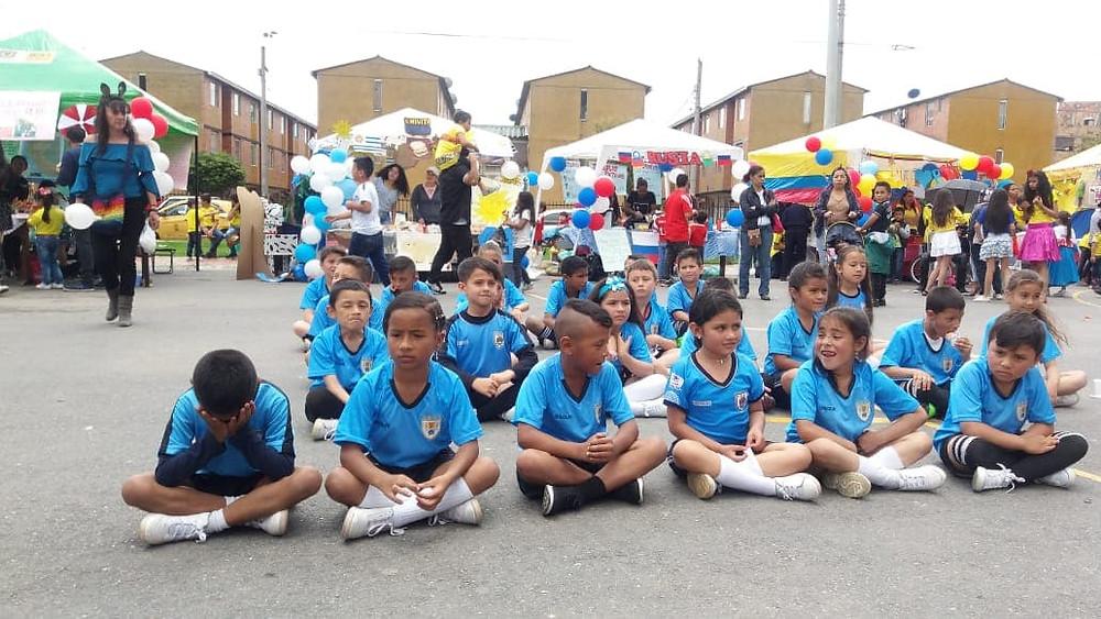 I FESTIVAL DEL ARTE Y LA CULTURA DE SUBA, organizado por el Colegio Van Leeuwenhoek con apoyo de la Corporación ESHAC