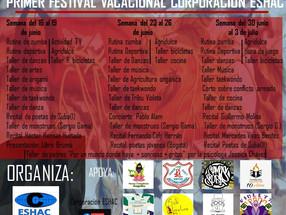 I Festival vacacional Corporación ESHAC