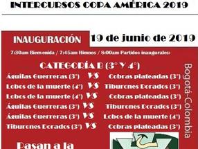 Copa América Intercursos Van 2019