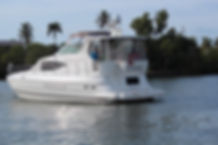 Cruisers 44 Express Port Aft Quarter