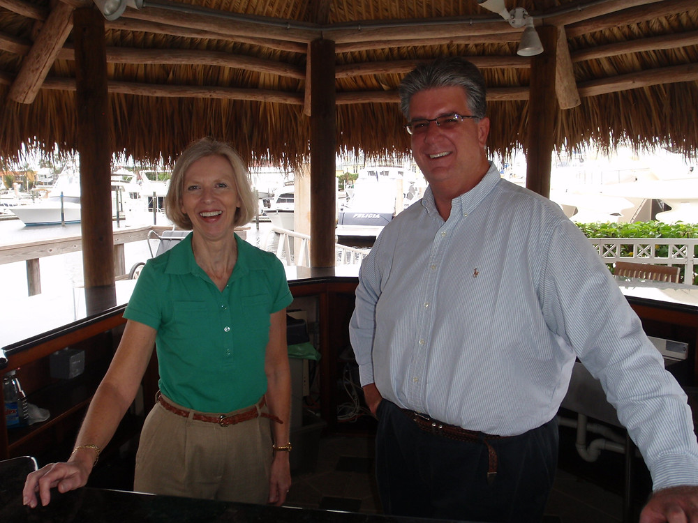Christine and Chris, Owners, Burkard Yacht Sales