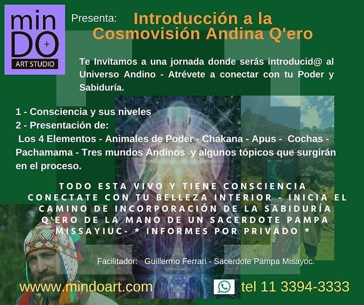 introducción a la cosmovisión andina q'e