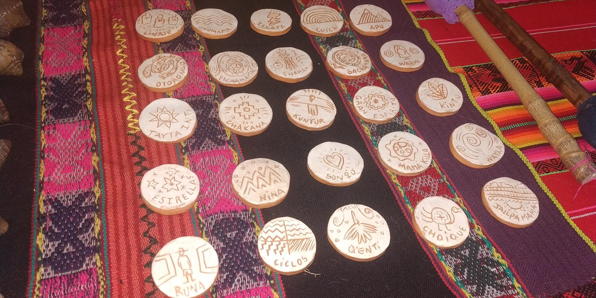 medallones andinos