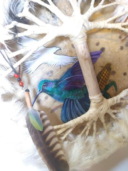 Árbol de la Vida + pintura Canalizada