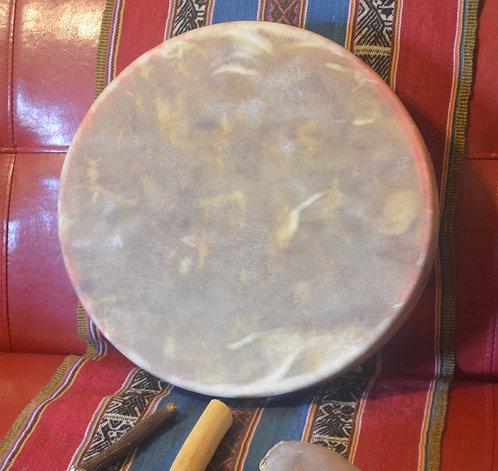 Tambor medicina - cuero de ciervo 35 cm