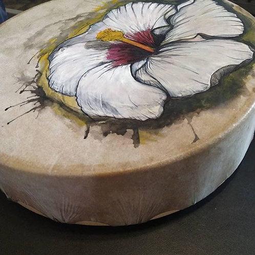 Flor de Puyo - Tambor Medicina 30 cm