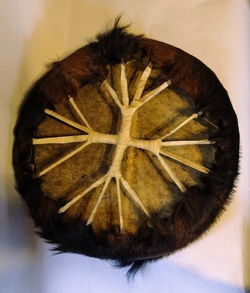Tambor chamánico Cabra con pelo