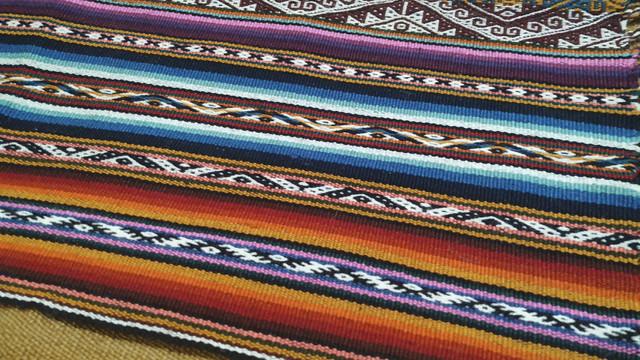 Detalle Mastana hecha en telar