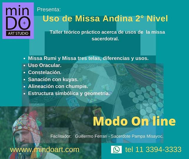 Missa andina on line 2