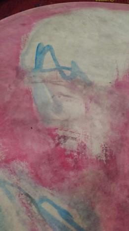 1º etapa, el cuero es y el agüita colorea