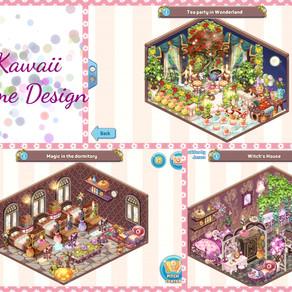 Mini Game: Kawaii Home Design