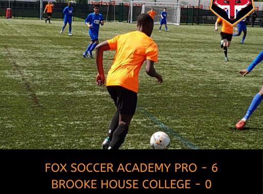 FSA PRO - BROOKE HOUSE COLLEGE, FRIENDLY