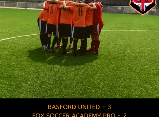 BASFORD UNITED - FSA PRO, FRIENDLY
