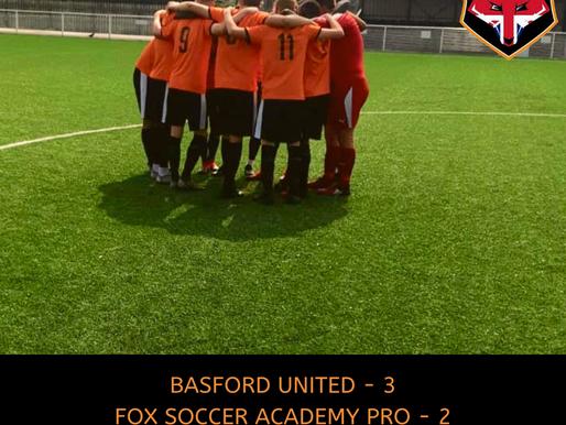 BASFORD UNITED - FSA PRO, FRIENDLY
